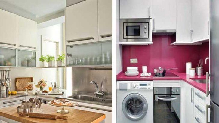 Küçük Mutfak Dekorasyonu İçin Altın Fikirler