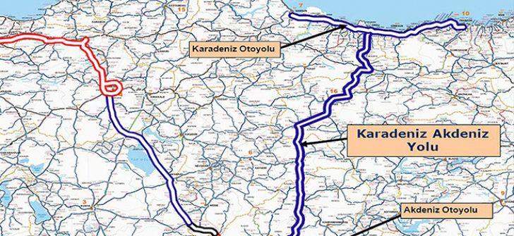 Karadeniz Akdeniz Yolu Projesinde Sona Gelindi!