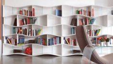 Birbirinden Harika Kitaplık Dekorasyonu Fikirleri