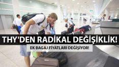 Türk Hava Yolları Ek Bagaj Fiyatlarında Radikal Değişiklik!