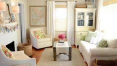 Küçük Oturma Odaları Dekorasyonunda Neler Yapılabilir?
