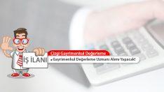 Çizgi Gayrimenkul Değerleme, Türkiye Geneli Uzman Alımı Yapacak!
