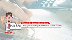 Piramit G.D. Türkiye Geneli 20 Adet Gayrimenkul Değerleme Uzmanı Alımı Yapacak!
