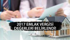 Yeni Yıl İçin Emlak Vergi Değerleri Belirlendi