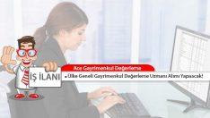 Ace Gayrimenkul Değerleme Türkiye Genelinde Personel Alımı Yapacak!