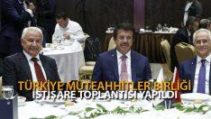 Türkiye Müteahhitler Birliği İstişare Toplantısı Yapıldı
