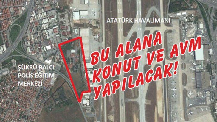 TOKİ'den Polis Okulu Arazisine Konut ve AVM!