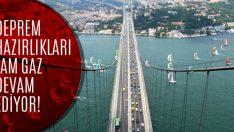 İstanbul'da Deprem Hazırlıkları Devam Ediyor!