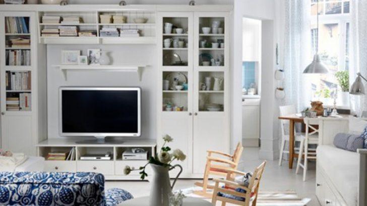 İkea Tasarımları ile Muhteşem Oturma Odası Dekorasyonları