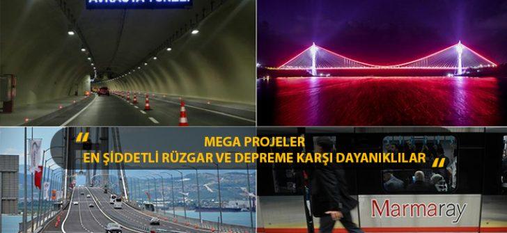 Mega Projeler En Şiddetli Rüzgar ve Depreme Karşı Dayanıklılar