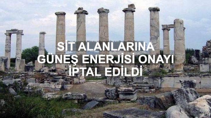 Sit Alanlarına Güneş Enerjisi Onayı, Danıştay Tarafından İptal Edildi!