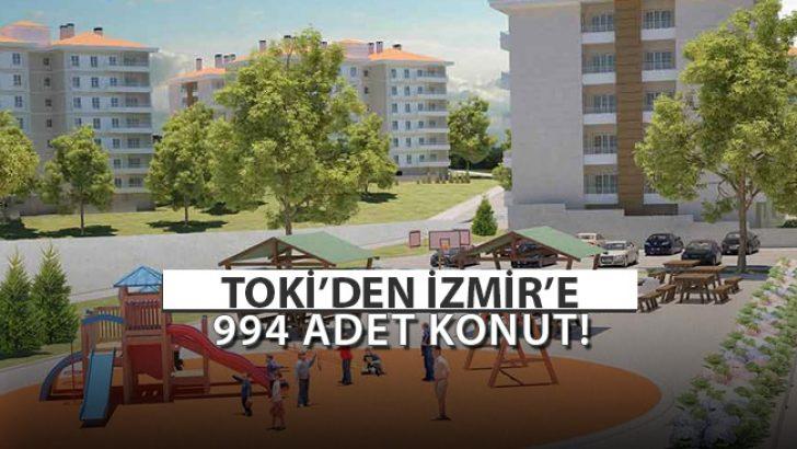 TOKİ'den İzmir'e 994 Adet Konut!
