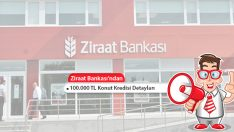 Ziraat Bankası'ndan 100.000 TL Konut Kredisi Detayları