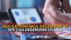 AGD Anadolu Gayrimenkul Değerleme'ye SPK Lisansı!