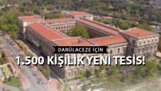 İstanbul'a 1.500 Kişilik Darülaceze Şehri İnşa Edilecek!