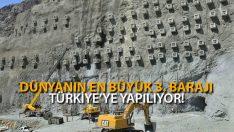 Dünyanın En Büyük 3. Barajı Türkiye'ye Yapılıyor!