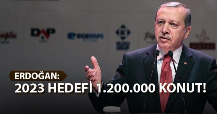 Erdoğan Kentsel Dönüşüm Kurultayında Konuştu