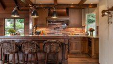 Farklı Mutfak Dekorasyonu İsteyenlere: Ahşap Mutfaklar!