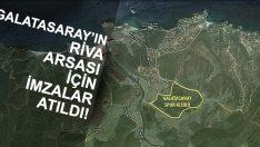 Galatasaray'ın Riva Arsası İhaleye Verildi, İmzalar Atıldı!