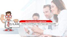 Lal Gayrimenkul Değerleme, Türkiye Geneli Eksper Alımı Yapacak!