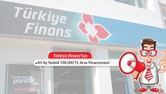Türkiye Finans'tan 60 Ay Vadeli 100.000 TL Arsa Finansmanı!