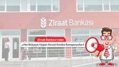 Ziraat Bankası'ndan Her Bütçeye Uygun Konut Kredisi Kampanyaları ve Tüm Detaylar!
