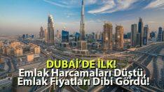 Dubai'de İlk! Emlak Harcamaları Düştü, Emlak Fiyatları Dibi Gördü!