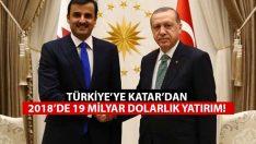 Katar'dan Türkiye'ye 19 Milyar Dolarlık Yatırım!