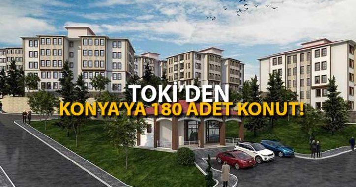 TOKİ'den Konya'nın 2 İlçesine 180 Konut!