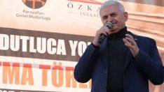 Başbakan Yıldırım Açıkladı! Karadeniz Güneydoğu'ya Bağlanıyor!