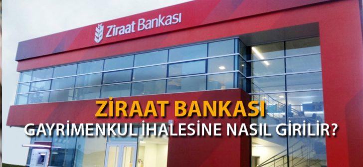 Ziraat Bankası Gayrimenkul İhalesine Nasıl Girilir?