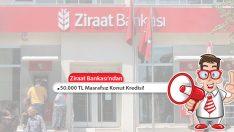 Ziraat Bankası Masrafsız Konut Kredisi! 50.000 TL Kredi!
