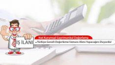 Net Kurumsal Gayrimenkul Değerleme, Türkiye Geneli Uzman Alımı Yapacak!