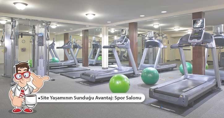 Site Yaşamının Sunduğu Avantaj: Spor Salonu