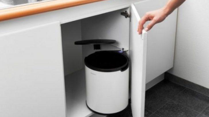 Mutfaktaki Çöp Kutusu İçin En Doğru Yer!