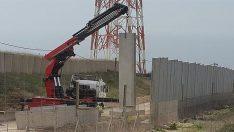 İsrail Tüm İtirazlara Rağmen Sınırdaki Duvar İnşaatına Devam Ediyor!