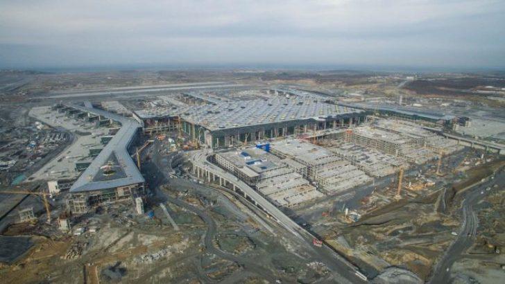 İstanbul Yeni Havaalanı'nın Son Şekli Havadan Görüntülendi!
