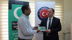 Gürcistan Yeşilay Cemiyeti Tiflis Ofisi Açılışına Türkiye'den Hediyeler