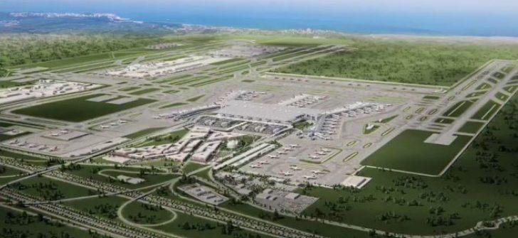 Yeni Havalimanı Yakınında Dev Yaşam Alanı Kurulacak!